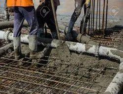 Gray Free Flow Concrete, Packaging Type: Transit Mixer