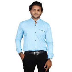 Cotton Twill Full Fashion Aex Branded Casual Wear Formal Shirt