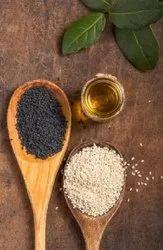 Solid Dried Black Sesame Seeds, For Food, Packaging Size: 25kg