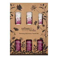 Rose,Botanics Urban Veda Reviving Complete Discovery Travel Set, Skin Type: Oily Skin