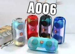 Multicolor BlanTech A006 Portable Bluetooth Speaker