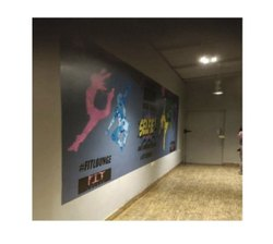 Indoor Wall Branding Service