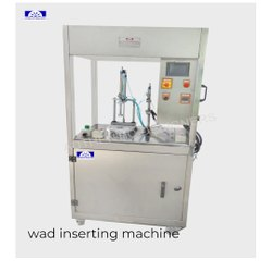 Wad Cap Inserting Machine