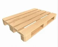4 Way Wooden Euro Pallet, For Industrial, Capacity: 1500 Kg