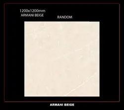Marble Armani Beige Random Slab Tile, For Flooring, Thickness: 9mm
