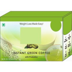 Nstant Green Coffee With Probiotics Sachets