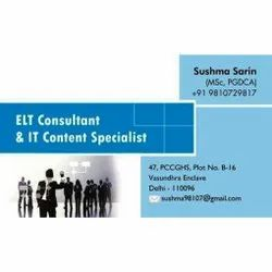 IT Consultant Business Card Printing Service