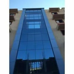Facade Structural Glazing Works