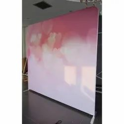 Flex Stage Backdrop Banner, For Advertising, Size: 10 X 7feet