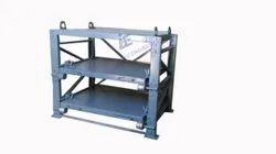 Mould Storage Rack With Sliding Movement Of Levels