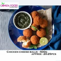 Chicken Cheese Balls 500G, Packaging Type: Packet