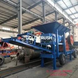 Mobile Stone Crushing Plant