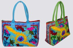 Suzani  Embroided Bag