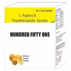 L-Arginine And Proanthocyanidin Sachets