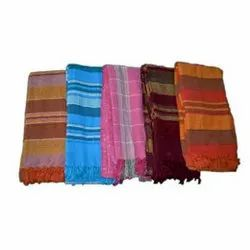 Colored Handloom Bed Cover