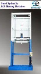 Semi Hydraulic PLC Honing Machine