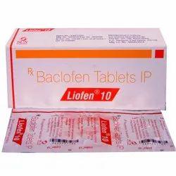 10 Mg Baclofen Tablets IP
