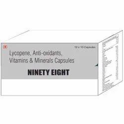 Lycopene Anti Oxidants Vit & Mineral Capsule