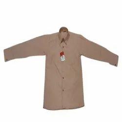 World Life Summer Brown School Uniform Shirt, Size: 22
