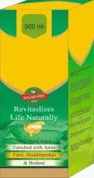Aloe Vera Juice, Enriched With Amla Tulsi, Shankhpushpi & Brahmi Syrup