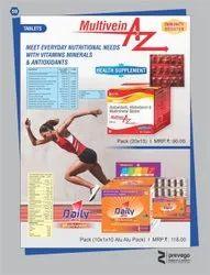 Multivitamins Multimineral and Antioxidants Tablets