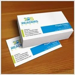 Corporate Business Card Design Service, Rectangle, Size Of Business Card: 2*3.5