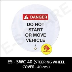 Industrial Steering Cover Lockout Device