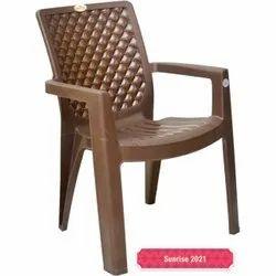 Brown Garden Plastic Chair