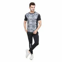 Half Sleeve Mens Stylish Round Neck T Shirt