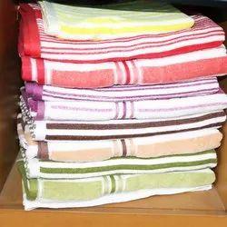 Sandex Corp Striped Cotton Bath Towels Stripe Towels For Pool And Beach, Size: 70*140 Cm,80*160 Cm