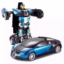 Red ABS Plastic Transformers Remote Control Car