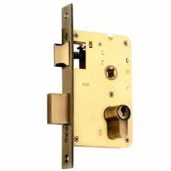 8 Inch Brass Body Mortise Lock