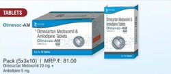 Olmesartan Medoxomil and Amlodipine Tablets