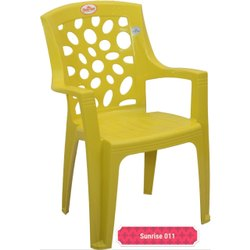 Yellow Plastic Baby Chair