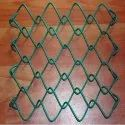 PVC Coated Chain Link Mesh Fence