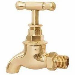 Golden Brass Water Tap