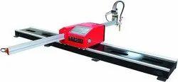 Mild Steel Portable CNC Cutting Machine, Max Cutting Thickness: 10mm, Automation Grade: Semi-automatic