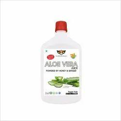KVR Aloevera Powered by Honey & Ginger 1000ML, Packaging Type: Bottle