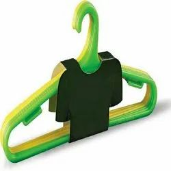 Able Multicolor Plastic Hanger, For Home