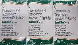 Tazilin Piperacillin And Tazobactam Injection 4.5gm