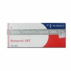 Ketorol DT (Ketorolac Tromethamine Dispersible Tablets)