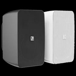 Black and White AUDAC Powered Speaker ARES5A