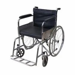 Manual Stainless Steel Fixed Wheel Chair