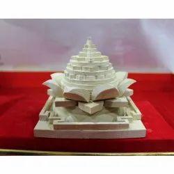 Wooden Lotus Shree Yantra