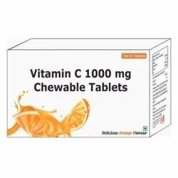 Vitamin C 1000 Mg Chewable Tablets