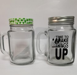 Mason Jar With Handle 450 Ml