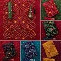 Ladies Bandhani Dress Material