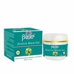 Bello Stretch Marks Gel, Plastic Jar