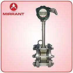 Stainless Steel Vortex Flow Meter, Repeatability: 1, Upto 350'c