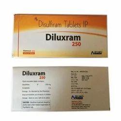 Disulfiram Alcohol De Addiction Tablets 250 Mg
